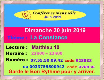 Conférence d'Intercession