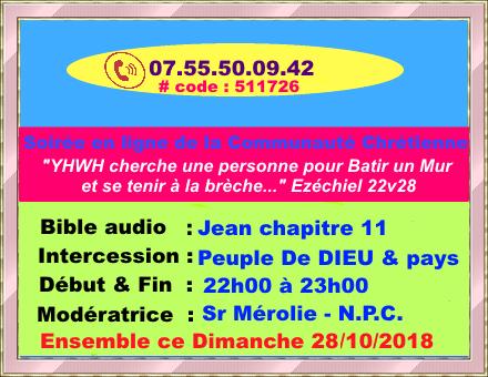 Conférence Biblique téléphonique internationale