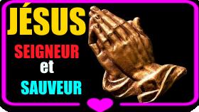 La Prière pour recevoir LE SEIGNEUR JÉSUS en vidéo