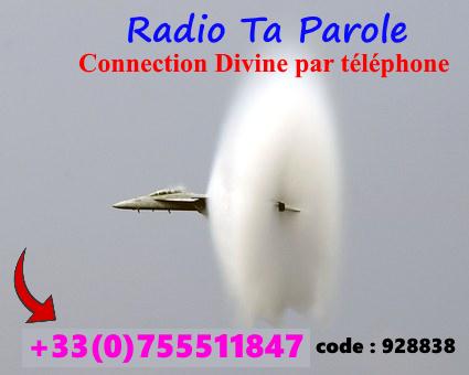Station radio Connection Divine par téléphone